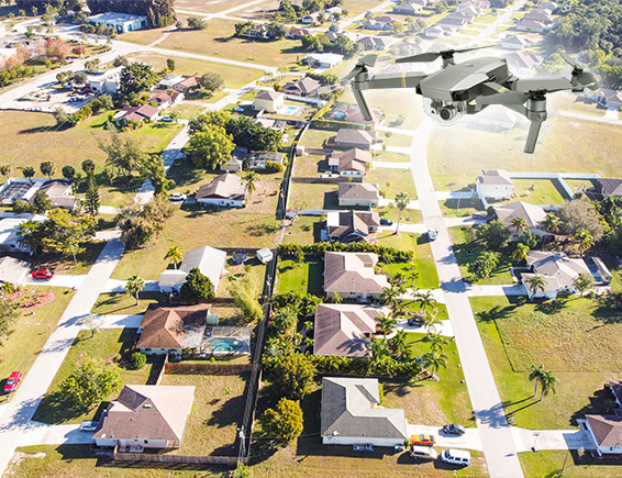 Filmare fotografie aeriana cu drona