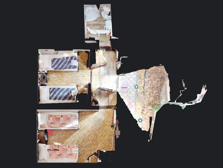 Scanare 3D spatii interioare